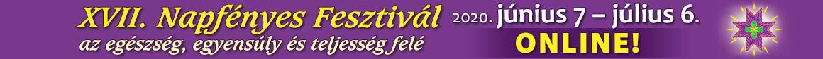 Napfényes Fesztivál – A testi, lelki, szellemi egészség rendezvénye Logo
